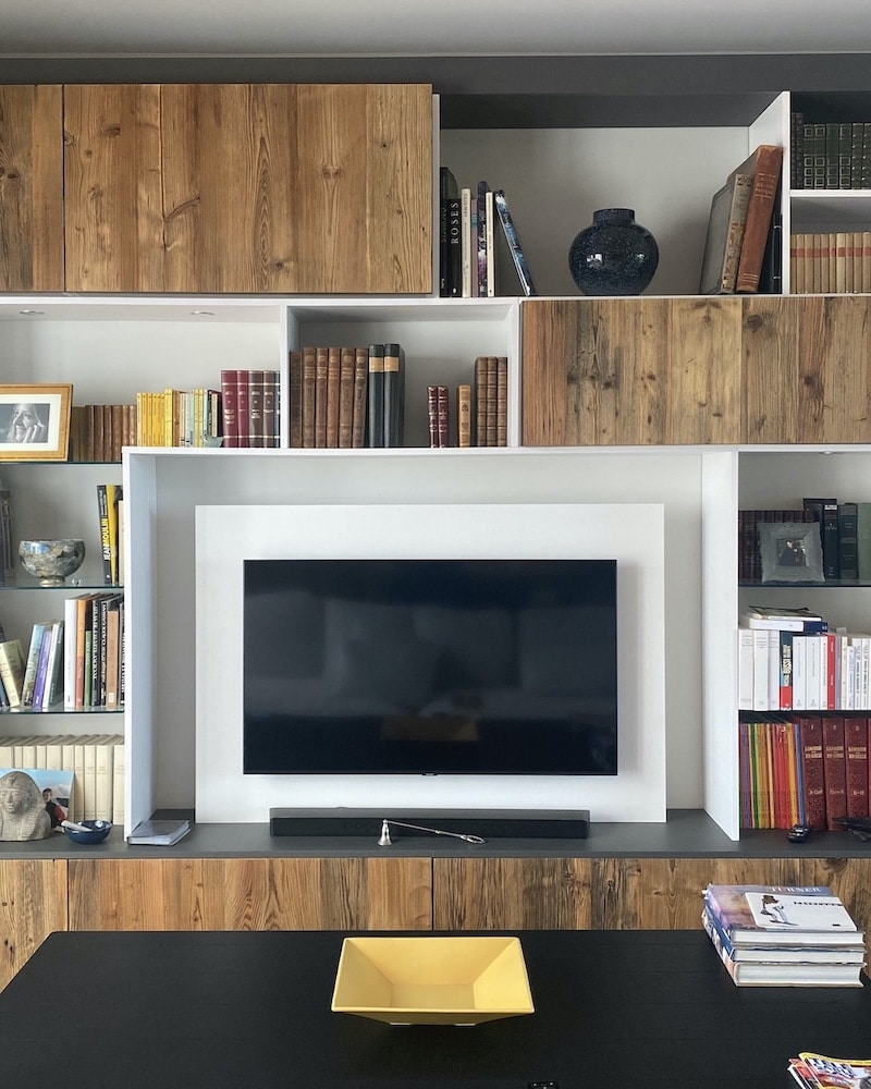 Conception meubles TV par Alvarez Cuisines
