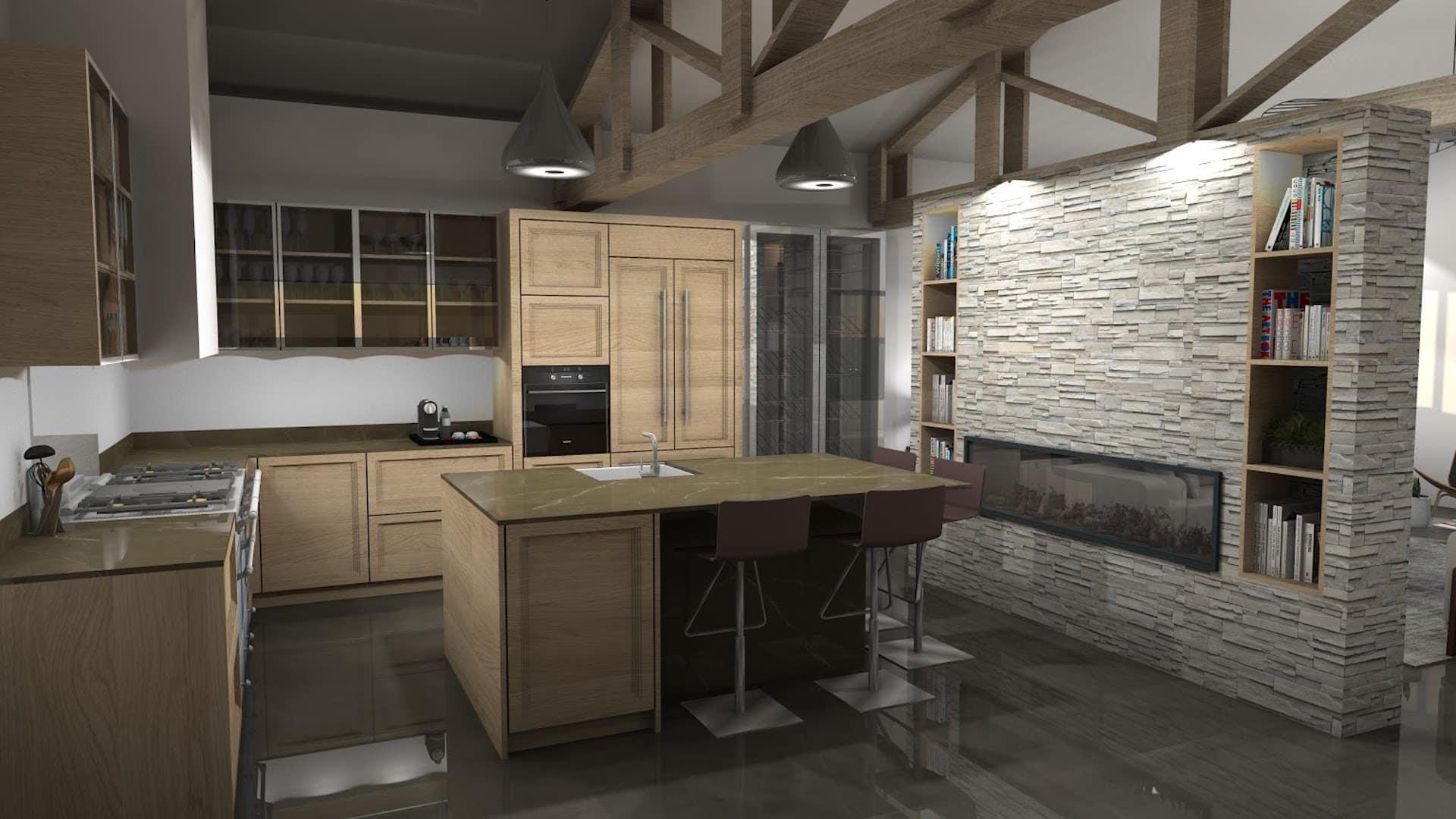 Cuisine Leclerc 3 par Alvarez Cuisines Cuisiniste designer dinterieur